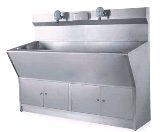 Stainless Steel Automatic Reaction Wash Sink